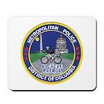DC Police Bicycle Patrol Mousepad