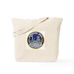 DC Police Bicycle Patrol Tote Bag