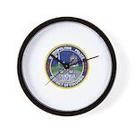 DC Police Bicycle Patrol Wall Clock