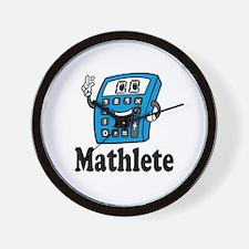 Mathlete calculator Wall Clock