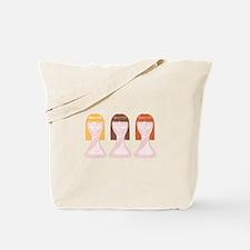 Hair School Mannequins Tote Bag