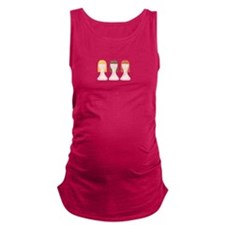 Hair School Mannequins Maternity Tank Top