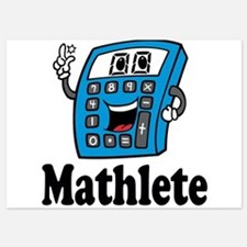 Mathlete calculator Invitations