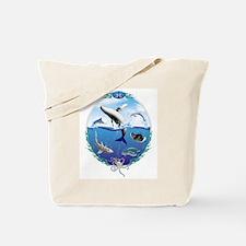 Cute Marine life Tote Bag
