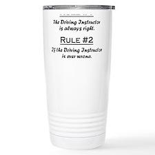 Funny Drywall Travel Mug