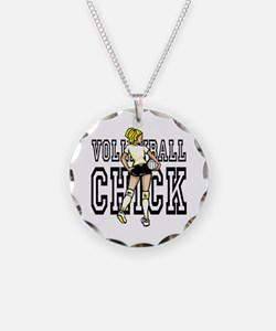 Volleyball chick Necklace