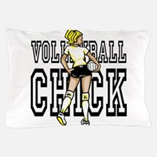 Volleyball chick Pillow Case