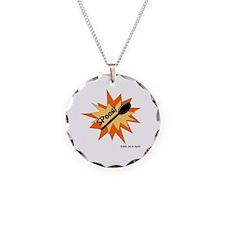 Spoon! in Orange Necklace