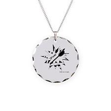 Spoon! Zebra Pattern Necklace