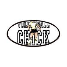 Volleyball chick Patches