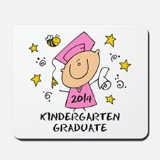 Cute Girl Kind Grad 14 Mousepad