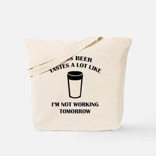 This Beer Tastes A Lot Like Tote Bag