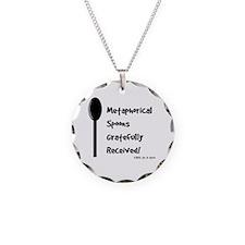 Metaphorical Spoons Grateful Necklace