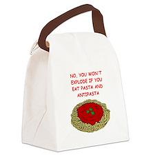 anti matter Canvas Lunch Bag
