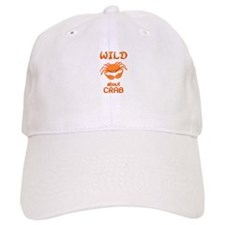 Wild About Crab Baseball Cap