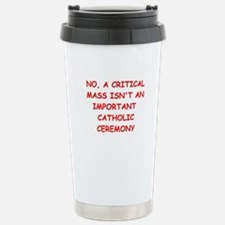 critical mass Travel Mug
