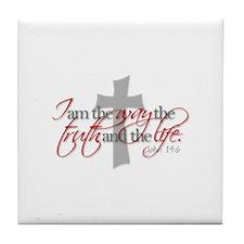 Cool Religious Tile Coaster