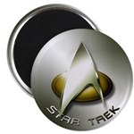 Silver Star Trek Magnets