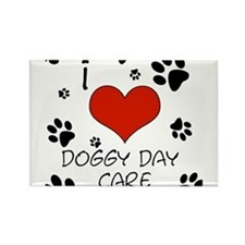 I Love Doggy Day Care16 Magnets