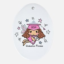 Graduation Princess 2014 Ornament (Oval)