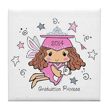 Graduation Princess 2014 Tile Coaster