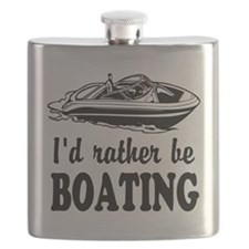 Id rather be boating Flask