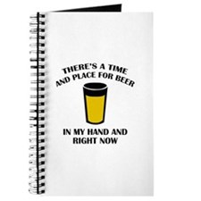 There's A Time And Place For Beer Journal