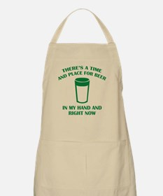 There's A Time And Place For Beer Apron