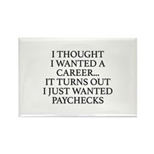 I Thought I Wanted A Career... Rectangle Magnet