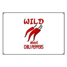 Wild About Chili Peppers Banner