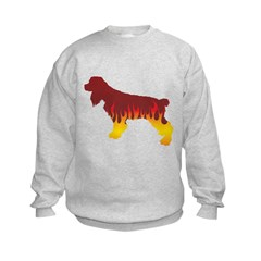 Cocker Flames Sweatshirt