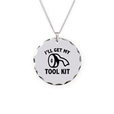 I'll Get My Tool Kit Necklace