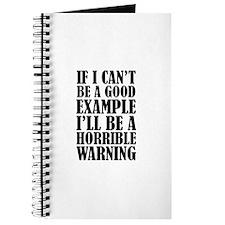 Horrible Warning Journal