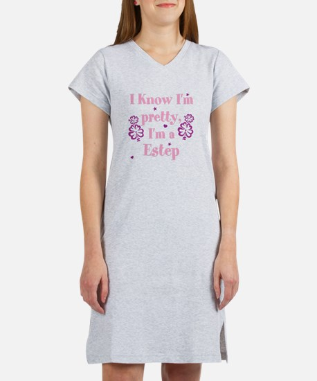 Personalize last name, I Know I Women's Nightshirt