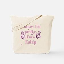 Personalize last name, I Know I'm Pretty. Tote Bag