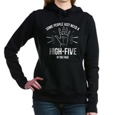 Some People Just Need A High-Five Hooded Sweatshir