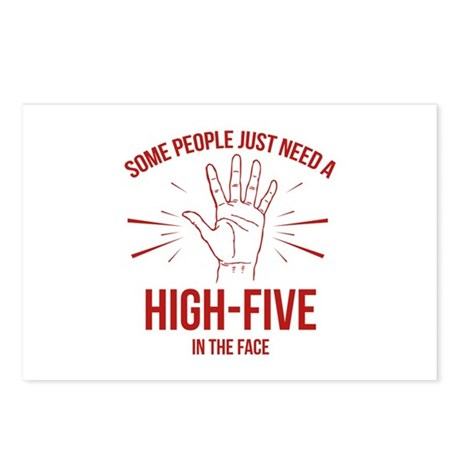 Some People Just Need A High-Five Postcards (Packa