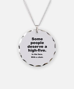 Some People Deserve A High-Five Necklace