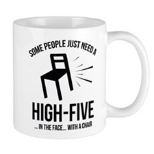 Some People Deserve A High-Five Small Mug