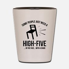 Some People Deserve A High-Five Shot Glass