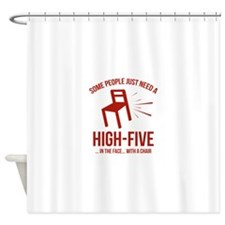 Some People Deserve A High-Five Shower Curtain