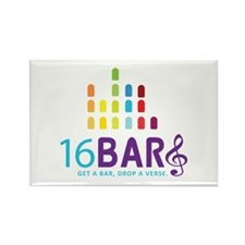 16 Bars Logo Magnets