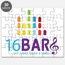 16 Bars Logo Puzzle