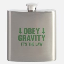 Obey Gravity. It's The Law. Flask
