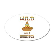 Wild About Burritos Wall Decal
