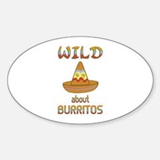 Wild About Burritos Decal