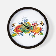 Cute Aquatic Wall Clock