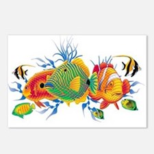 Cute Tropical fish Postcards (Package of 8)