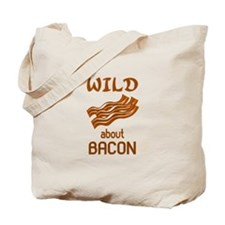 Wild About Bacon Tote Bag