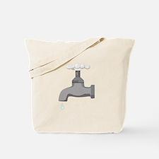 Water Faucet Tote Bag